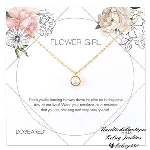 NWT - DOGEARED Bridal Collection Necklace